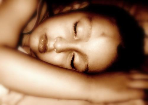 spierschokken tijdens slaap