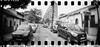 2016-05 - 056SR/059SR - DSC_0021 (sarajoelsson) Tags: sprocketrocket blackandwhite bw panorama panoramic sprocketholes digitizedwithdslr toycamera ilford 135 35mm 2016 hp5 monochrome plasticlens everydaylife filmphotography filmisnotdead believeinfilm filmshooter film wideangle lomography lomo may madrid spain city urban xtol teamframkallning bnw svartvitt blackwhite spring springtime