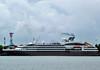 L'austral about to leave (Everyone Shipwreck Starco (using album)) Tags: kapal kapallaut kapalpesiar cruiseship laustral