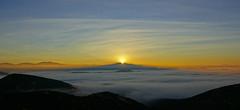 Iron Mountain, Poway, CA (larisavoronina) Tags: approved sunrise fog