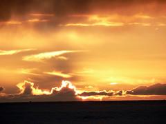 (Magali Deval) Tags: ocean sunset sea sun france 510fav fire bretagne molene