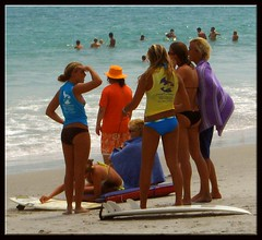 Surfer Girls - by W. bootz B. Photography
