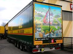 Truck - Switzerland (Kecko) Tags: 2005 art truck painting schweiz switzerland swiss kunst stmargrethen transport picture kecko ostschweiz lorry bild verkehr lastwagen swissphoto
