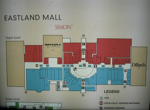 Eastland Mall Map Eastland Mall Map   a photo on Flickriver Eastland Mall Map