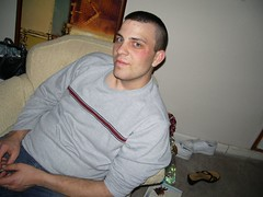 Sexy Man! (Sparrow881) Tags: 2005 chris friends party man christopher husband bubba