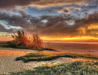 Surfers Knoll, Ventura CA - HDR