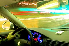 g-o-o-o-o-o-o-o-o e-z p-a-s-s-s-s-s-s-s-s-s-s-s-s-s-s!!!!!!!!!!! (Ben McLeod) Tags: flickrimportr driving longexposure night car vw volkswagen passat ipod easypass hooksett newhampshire tollbooth