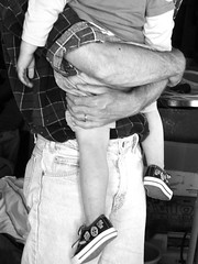 dad's arms will hold you tight (Brenda Anderson) Tags: hug eric arms father sixwordstory son pcss gary fathersandsons protection hold curiouskiwi ssdaddyshands tc38crop brendaanderson curiouskiwi:posted=2005