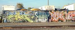 Slauson # 10 (TRUE 2 DEATH) Tags: streetart graffiti la losangeles mural dk law tat sob rubik  i2w slauson sketp init2winit luxer