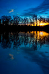 Sunrise Reflections, Part 2 (Luke Williams) Tags: sunrise newtoncounty missouri neosho reflection water