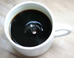 En kopp kaffe är nyttig då den innehåller antioxidanter