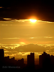 Por do Sol (Edir Manzano) Tags: