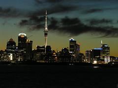 Auckland dusk skyline by Carmelo Aquilina