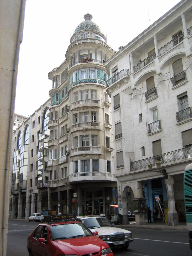 Casablanca buildings