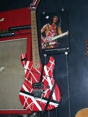 La Guitarra Frankenstein de Eddy Van Halen, foto por cleverswine