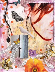 moment of truth (Kelly Angard) Tags: collage kellya mixedmediaart kellyangard thecraftygirl kellyafineartphotography