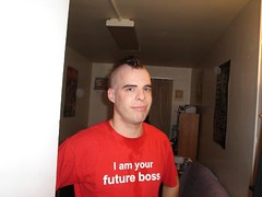 Your Future Boss (Flatboy) Tags: red haircut man hot men guy hair buzz skin shaved shave mohawk buzzcut buzzed buz clipped