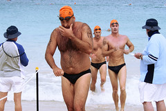 Past the line (North Cott Open Water Swim) (sengsta) Tags: northcottesloe openwater beach swimmer