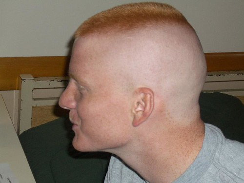 The high and tight is a military variant of the buzz cut.