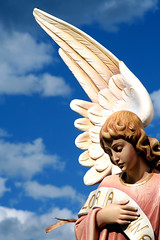 Gloria (Here's Kate) Tags: christmas angel interestingness topv1111 interestingness1 sydney australia slideshow nativity