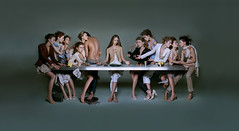 Marith e Franois Girbaud: Last supper (Tamurello) Tags: pub catholic religion ad censorship censure adv artdirection cenacolo lastsupper pubblicit censura cattolicesimo ultimacena cristianesimo marithefranoisgirbaud vangelo