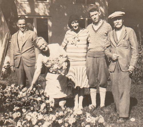 Andrew Havig Jensen (1861-1930) and Lena Elaine Olsen (1860-1938) in Willaims Bay, Wisonsin in 1929