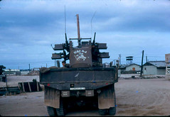 VNQuad50 (ONE/MILLION) Tags: sign danger gun kill viet times trucks 70 base weapons nam cally quad50