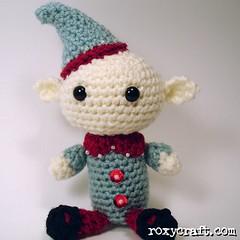 elf 1 (Roxycraft) Tags: amigurumi softies plush mos crochet handmade