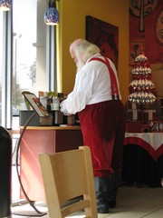 Santa at Starbucks (Michael Casey) Tags: santa christmas xmas holiday coffee georgia funny humorous coffeeshop starbucks santaclaus stnicholas caffeine caught lawrenceville michaelcasey spotsanta catchsanta