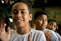 three of us ( Tatiana Cardeal) Tags: brazil brasil digital children hope documentary afrobrazilian capoeirabeijaflor invenciblespirit carf diadema tatianacardeal streetkids ong ngo brsil socialchange documentaire documentario childrenatriskfoundation