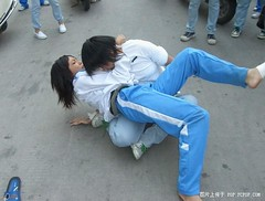 school fight