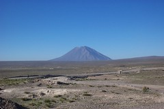 Volcano evacuation