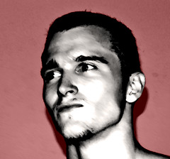 Red Face (Zek Kelley) Tags: me selfportrait deleteme10
