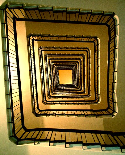 il mondo è fatto a scale [stairs in lecce, salento, italy]
