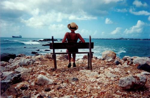 Me  in St. Maarten