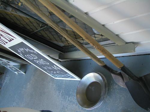 Arrowtown gold pans