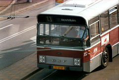 Old Dutch city bus in the Hague (HTM 352) (Michiel2005) Tags: bus denhaag thehague htm lijn13 oostduin
