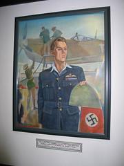 buzz beurling Canadian War Hero (snapawayoungman) Tags: blue gay red swastika propeller