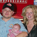 Bobby Hamilton Jr. and family