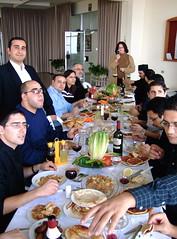 Joyous Feast! (phool 4  XC) Tags: 2005 people lebanon food feast drink joy christian orthodox balamand orthodoxchristian لبنان weareallthesame december4 stjohnofdamascus بيتربروباخر phool4xc