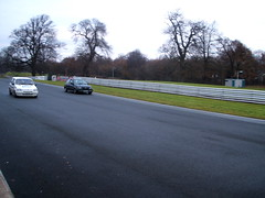 The Race is On! (Daniel Jardine) Tags: fiesta rs turbo vs rover metro gti oulton park trackday 10th december 2005 tarmac race car vehicle cheshire fastcar sportscar racer ace cool awesome