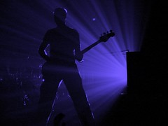 Adam Clayton, 12\07\05, Hartford, CT, Hartford Civic Center (bonobaltimore) Tags: u2 mbk silhoutte cf rw adamclayton top20livemusic sak hartfordct vertigotour2005 bonobaltimore december72005 hartfordciviccenter michaelkurman mikekurman