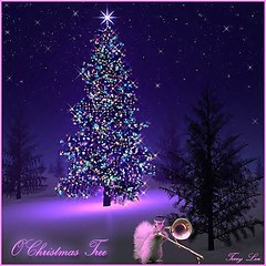 O CHRISTMAS TREE (Terry_Lea) Tags: christmascards tbas