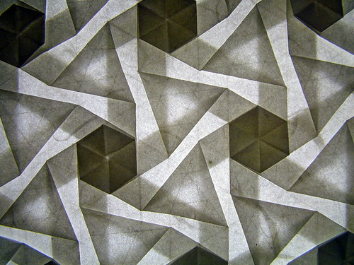 Pinwheel tessellation, version 2, reverse, backlit by EricGjerde, on Flickr