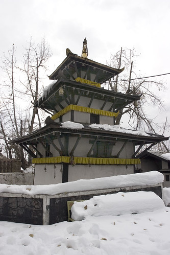 Temple in Muktinath temple complex