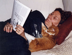Mum and Priscilla reading