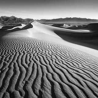 Striations, Death Valley, CA