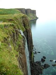 Kilt Rock, Isle of Skye, Scotland - scotland skye isle isleofskye rock kilt landscapes kiltrock countryside