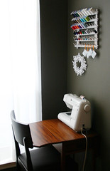 sewing corner - by Laurie | Liquid Paper