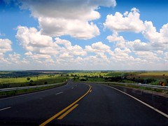 On the Road Again (joaobambu) Tags: 2005 driving brasil brazil road asphalt highway ontheroad echapora echapor assis cloud clouds nuven nuvens asfalto estrada autoestrada autobahn landscape scenery vista rural countryside horizon lyrics willienelson interesting interestingness topv111 topv333 topf15 topf25 topv1111 topv2222 topv3333 topv4444 topv5555 topv6666 topv7777 topv8888 topv9999 topv11111